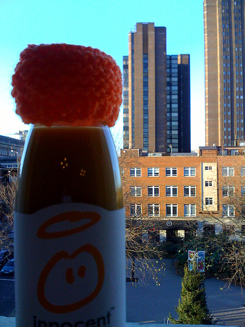 A Big-Knit Smoothie